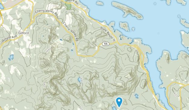 Ellacoya State Park Map