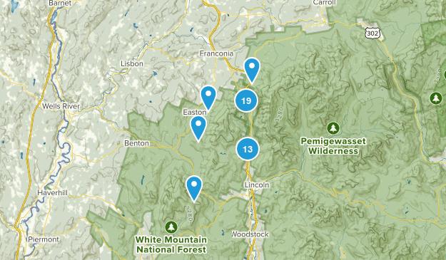Franconia Notch State Park Map