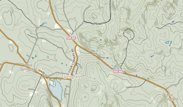Gardner Memorial Wayside Park Map
