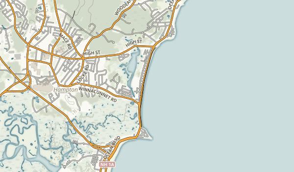 Hampton Beach State Park Map