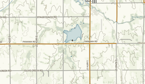 Stagecoach State Recreation Area Map