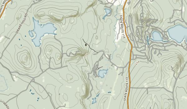 Madison Boulder Natural Area Map
