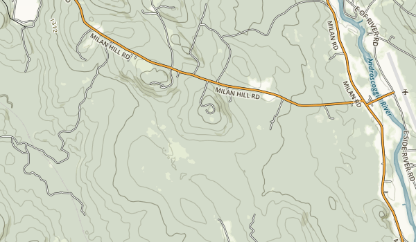 Milan Hill State Park Map