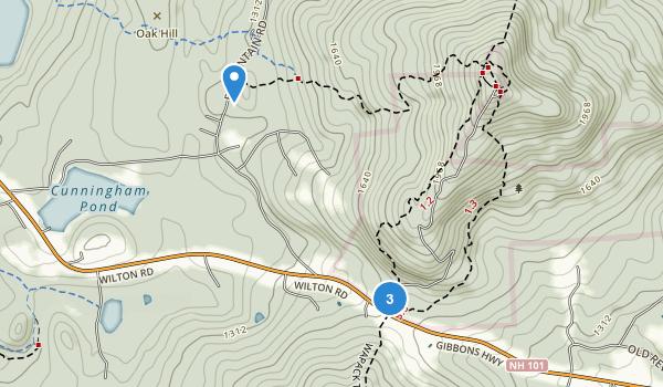 Miller State Park Map
