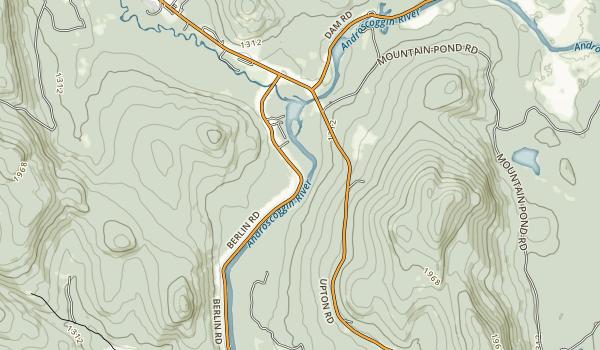 Mollidgewock State Park Map