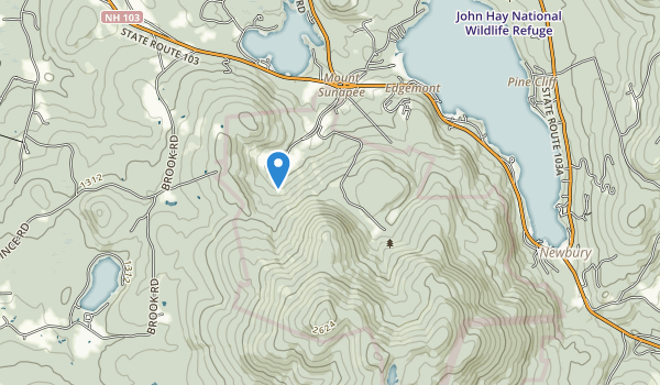 Mount Sunapee State Park Map