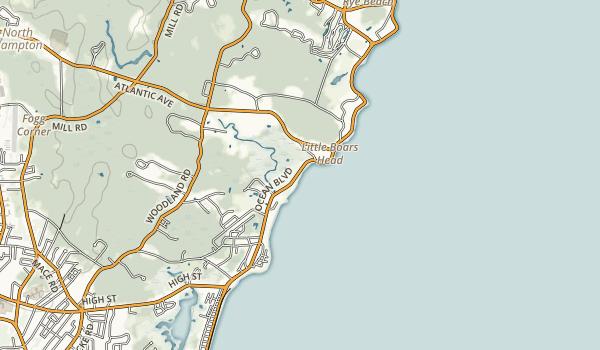 North Hampton State Beach Map
