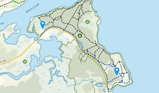 Odiorne Point State Park Map