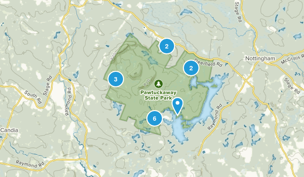 Best trails in pawtuckaway state park new hampshire alltrails pawtuckaway state park map publicscrutiny Gallery