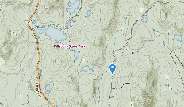 Pillsbury State Park Map