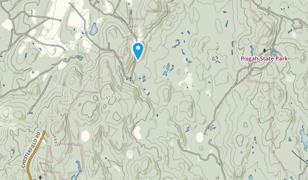 Pisgah State Park Map