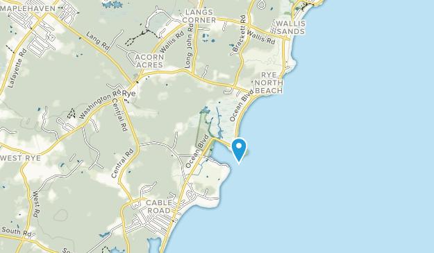 Rye Harbor State Park Map