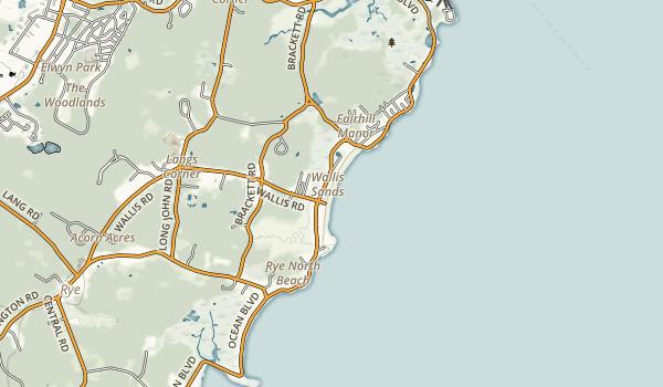 Wallis Sands State Park Map