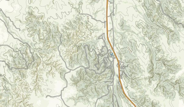 Chadron State Park Map