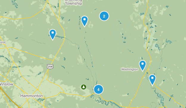Wharton State Forest Map