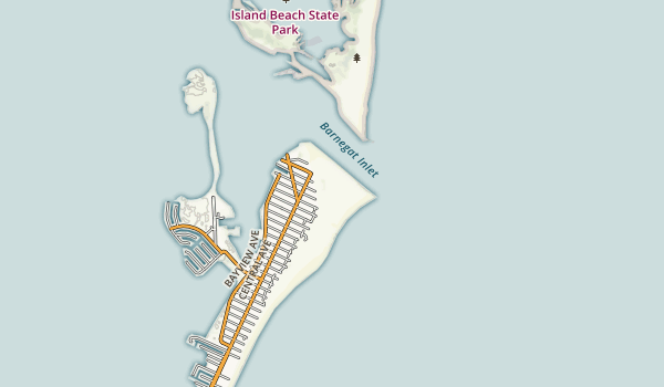 Barnegat Lighthouse State Park Map