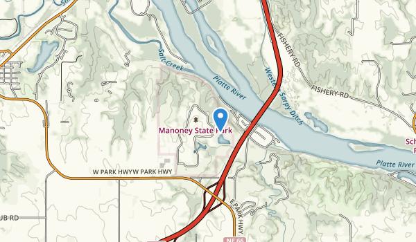 Eugene T. Mahoney State Park Map