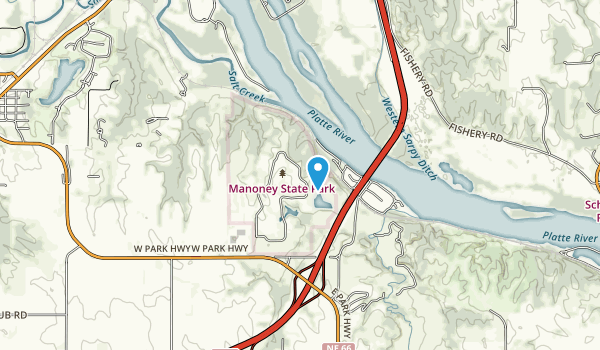 Eugene T. Mahoney State Park Map