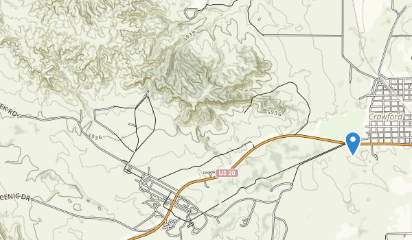 Fort Robinson State Park Map