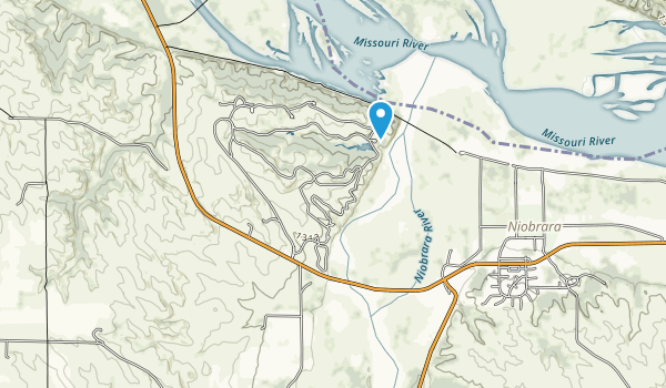 Niobrara State Park Map