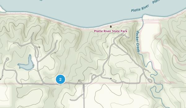 Platte River State Park Map