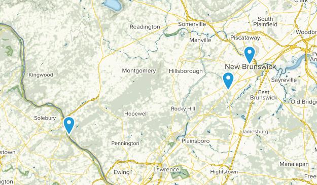 Delaware & Raritan Canal State Park Map