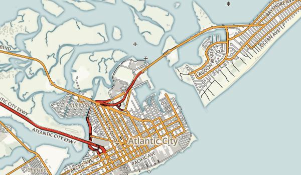 Senator Frank S. Farley State Marina Map