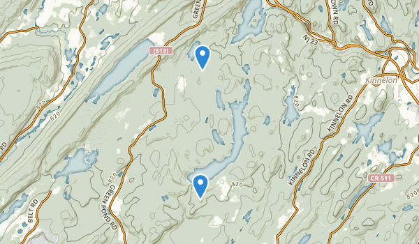 trail locations for Farny State Park