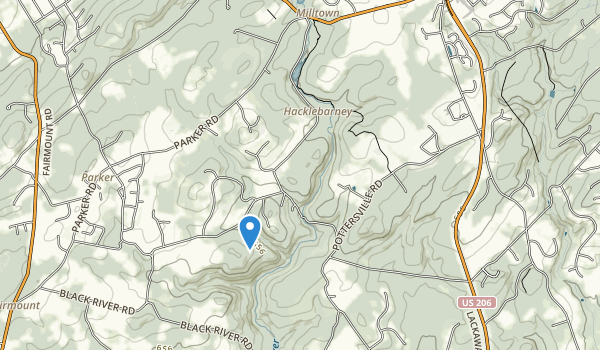 Hacklebarney State Park Map