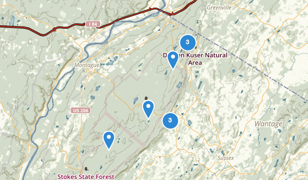 High Point State Park Map