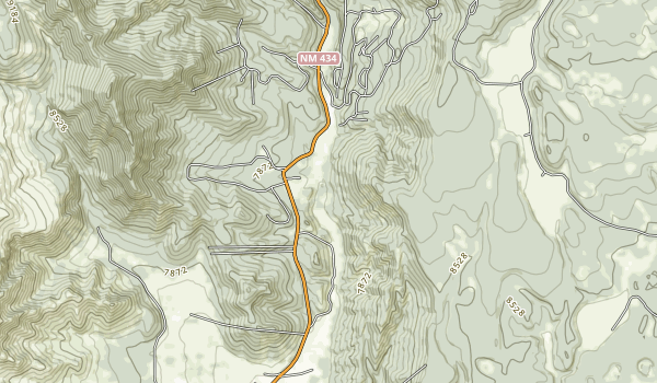 Coyote Creek State Park Map