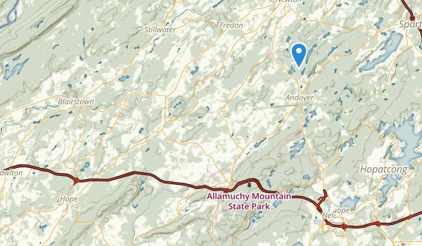 Kittatinny Valley State Park Map