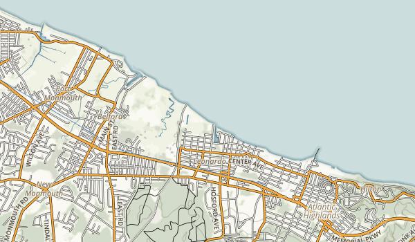 Leonardo State Marina Map