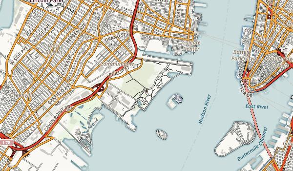 Liberty Landing Marina Map