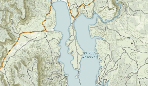 El Vado Lake State Park Map