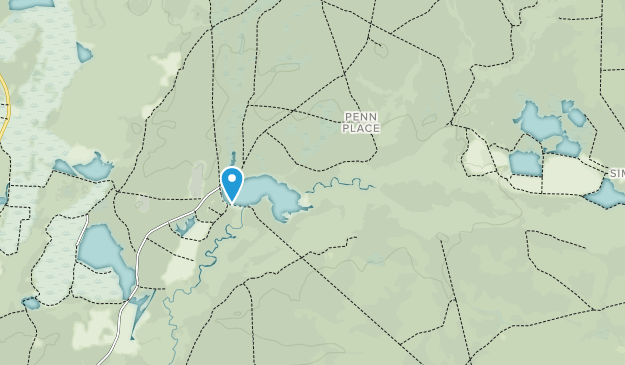 Penn State Forest Map