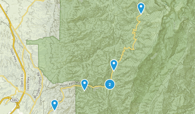 Hyde Memorial State Park Map