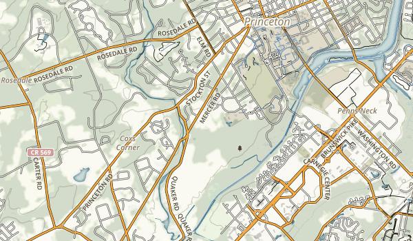 Princeton Battlefield State Park Map