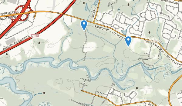 Rancocas State Park Map