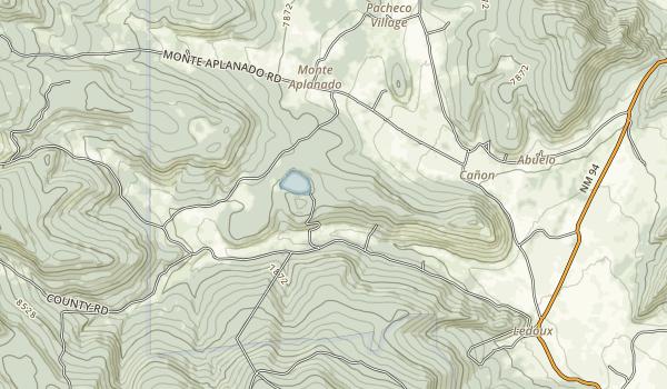 Morphy Lake State Park Map