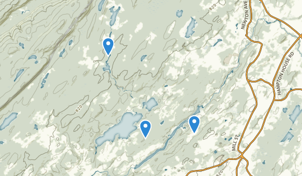 Swartswood State Park Map