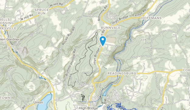 Voorhees State Park Map
