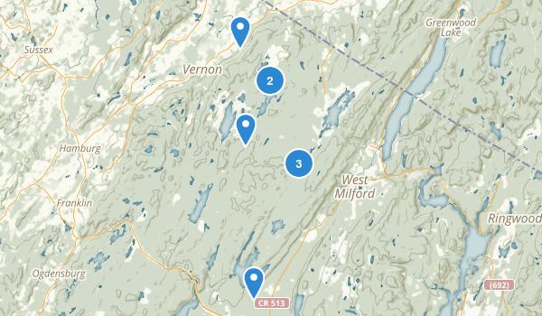 Wawayanda State Park Map