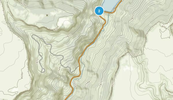 Sugarite Canyon State Park Map