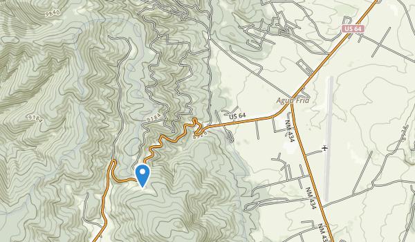 trail locations for Vietnam Veterans Memorial State Park