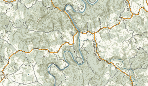 New River State Park Map