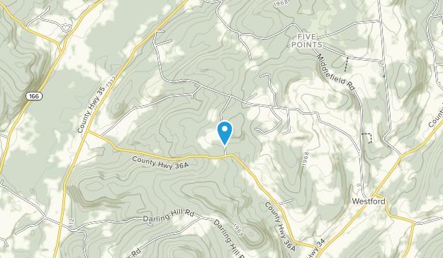 Betty y Wilbur Davis State Park Map