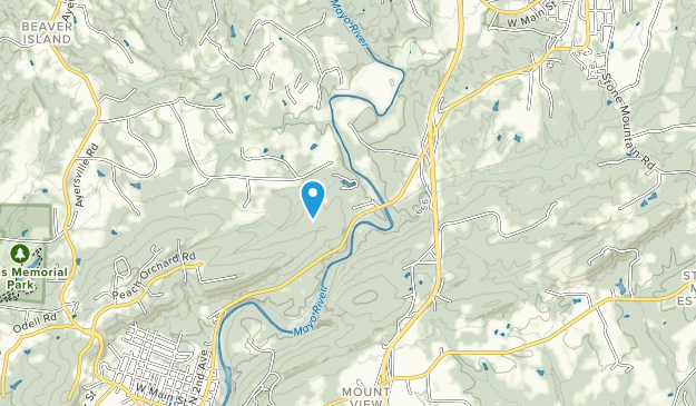 Mayo River State Park Map