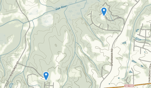 Haw River State Park Map