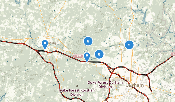 Eno River State Park Map